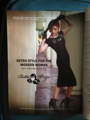 Las Vegas Magazine for Bettie Page Shoes